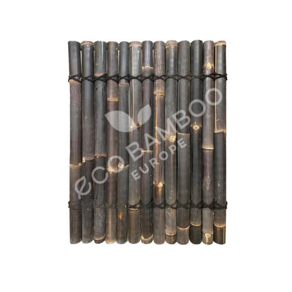 Black bamboe tuinscherm 120×90 cm
