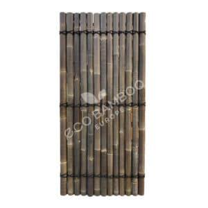 Black bamboe tuinscherm 200×90 cm