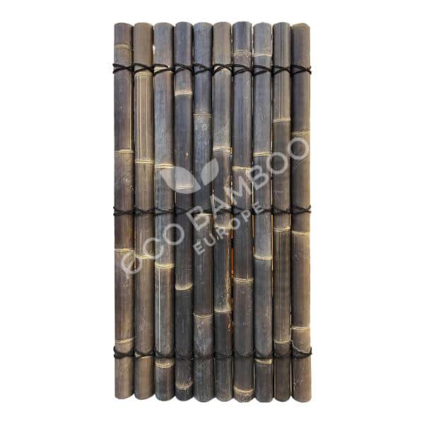 Black bamboe tuinscherm 240×90 cm