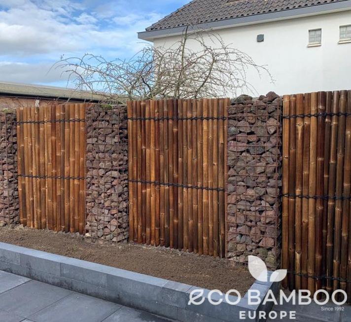 Black Bamboe tuinsscherm