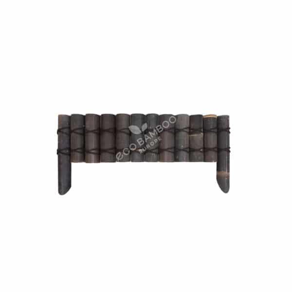 Black bamboe grasborder 100×50 cm