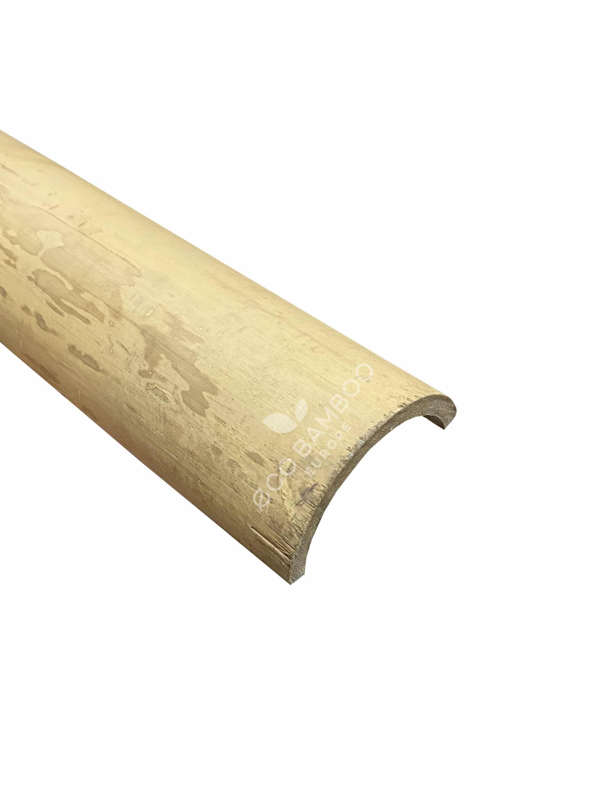 Moso Bamboe halfronde palen